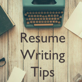 Resume Writing: Things to Avoid